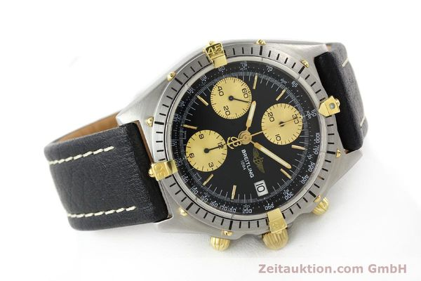 Used luxury watch Breitling Chronomat chronograph gilt steel automatic Kal. ETA 7750 Ref. 81950A  | 141559 03