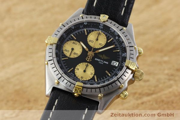 Used luxury watch Breitling Chronomat chronograph gilt steel automatic Kal. ETA 7750 Ref. 81950A  | 141559 04