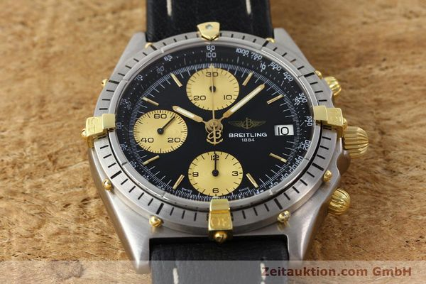 Used luxury watch Breitling Chronomat chronograph gilt steel automatic Kal. ETA 7750 Ref. 81950A  | 141559 13
