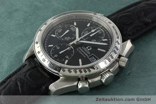 Used luxury watch Omega Speedmaster chronograph steel automatic Kal. 1152 Ref. 35135000  | 141560 01