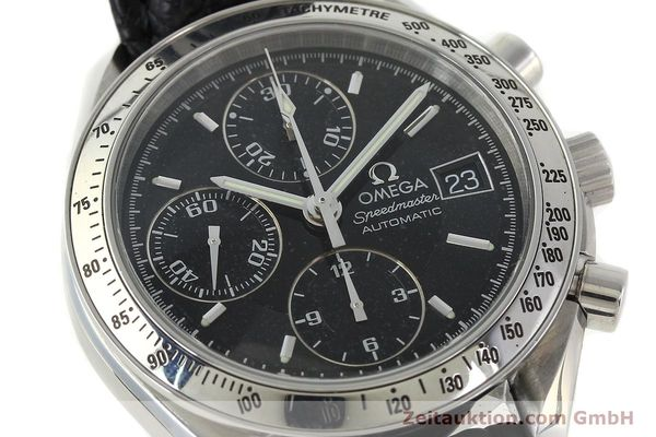 Used luxury watch Omega Speedmaster chronograph steel automatic Kal. 1152 Ref. 35135000  | 141560 02