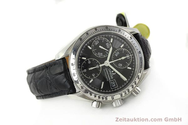 Used luxury watch Omega Speedmaster chronograph steel automatic Kal. 1152 Ref. 35135000  | 141560 03
