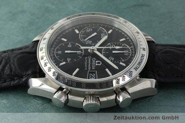 Used luxury watch Omega Speedmaster chronograph steel automatic Kal. 1152 Ref. 35135000  | 141560 05