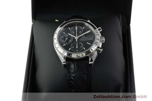 Used luxury watch Omega Speedmaster chronograph steel automatic Kal. 1152 Ref. 35135000  | 141560 07