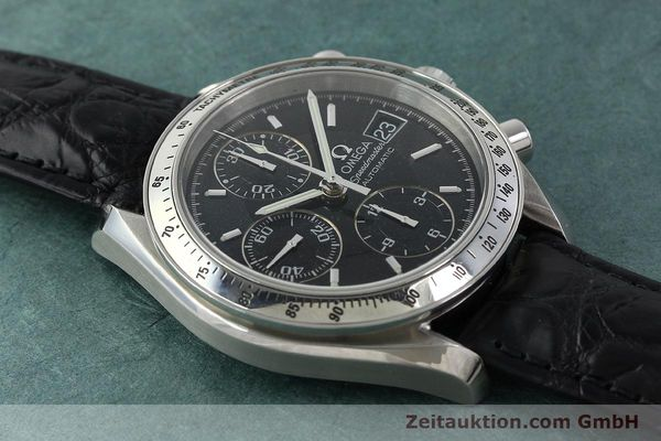 Used luxury watch Omega Speedmaster chronograph steel automatic Kal. 1152 Ref. 35135000  | 141560 15