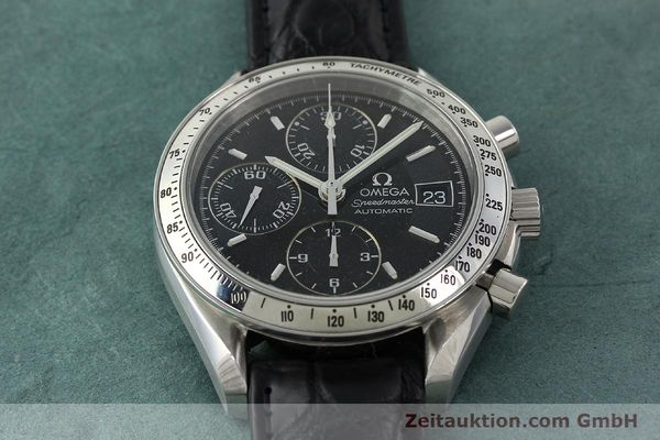 Used luxury watch Omega Speedmaster chronograph steel automatic Kal. 1152 Ref. 35135000  | 141560 16