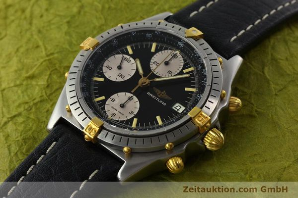 Used luxury watch Breitling Chronomat chronograph steel / gold automatic Kal. VAL 7750 Ref. 81950A  | 141562 01