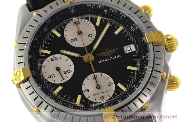 Used luxury watch Breitling Chronomat chronograph steel / gold automatic Kal. VAL 7750 Ref. 81950A  | 141562 02