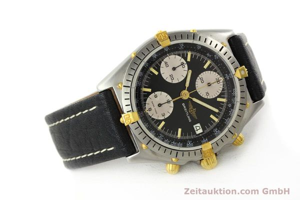 Used luxury watch Breitling Chronomat chronograph steel / gold automatic Kal. VAL 7750 Ref. 81950A  | 141562 03
