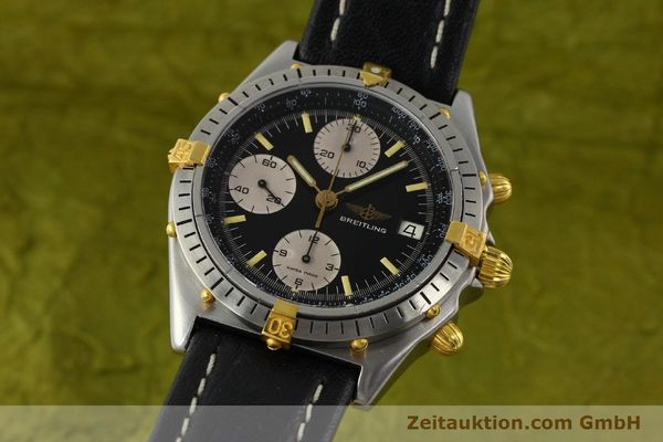 Used luxury watch Breitling Chronomat chronograph steel / gold automatic Kal. VAL 7750 Ref. 81950A  | 141562 04