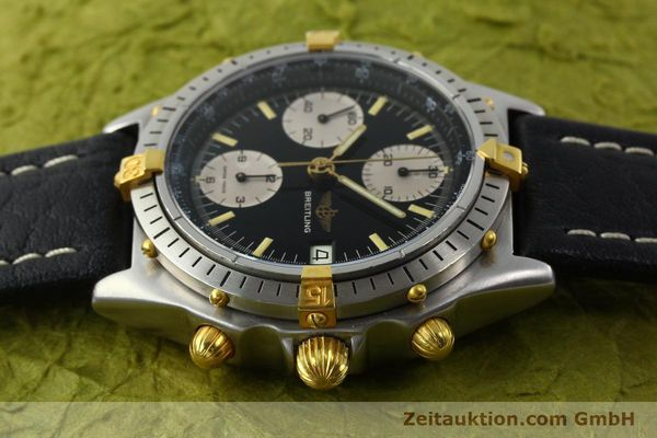 Used luxury watch Breitling Chronomat chronograph steel / gold automatic Kal. VAL 7750 Ref. 81950A  | 141562 05