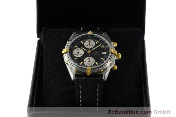 Used luxury watch Breitling Chronomat chronograph steel / gold automatic Kal. VAL 7750 Ref. 81950A  | 141562 07