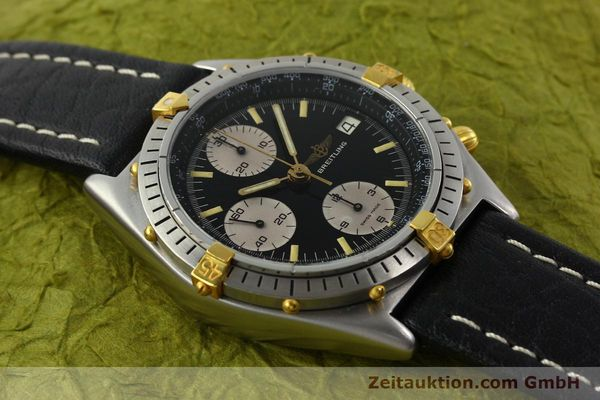 Used luxury watch Breitling Chronomat chronograph steel / gold automatic Kal. VAL 7750 Ref. 81950A  | 141562 13