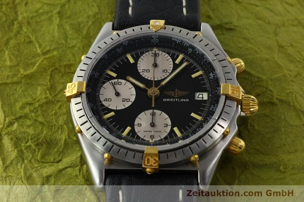 Used luxury watch Breitling Chronomat chronograph steel / gold automatic Kal. VAL 7750 Ref. 81950A  | 141562 14