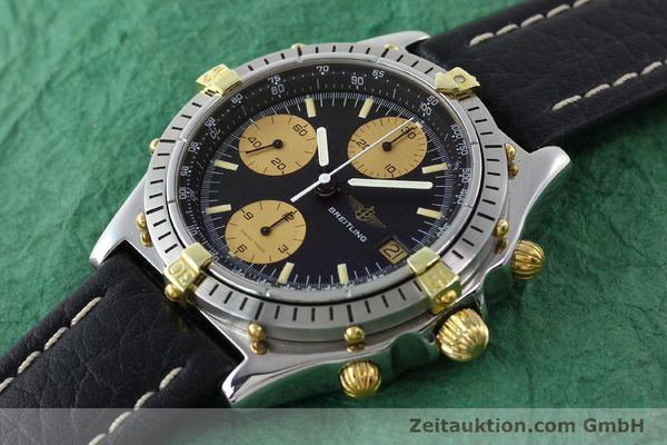 Used luxury watch Breitling Chronomat chronograph gilt steel automatic Kal. VAL 7750 Ref. 81.950  | 141563 01