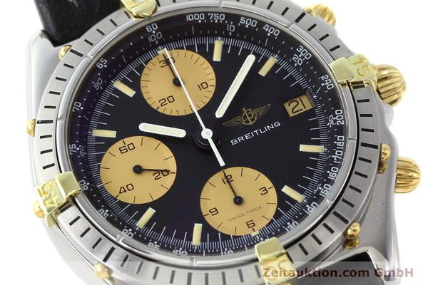Used luxury watch Breitling Chronomat chronograph gilt steel automatic Kal. VAL 7750 Ref. 81.950  | 141563 02