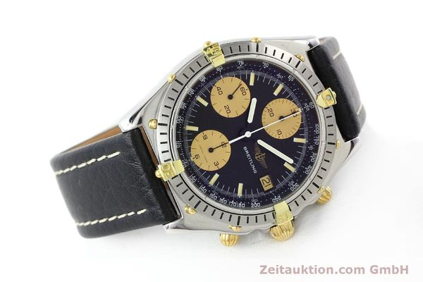 Used luxury watch Breitling Chronomat chronograph gilt steel automatic Kal. VAL 7750 Ref. 81.950  | 141563 03