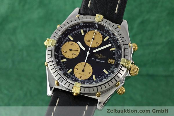 Used luxury watch Breitling Chronomat chronograph gilt steel automatic Kal. VAL 7750 Ref. 81.950  | 141563 04