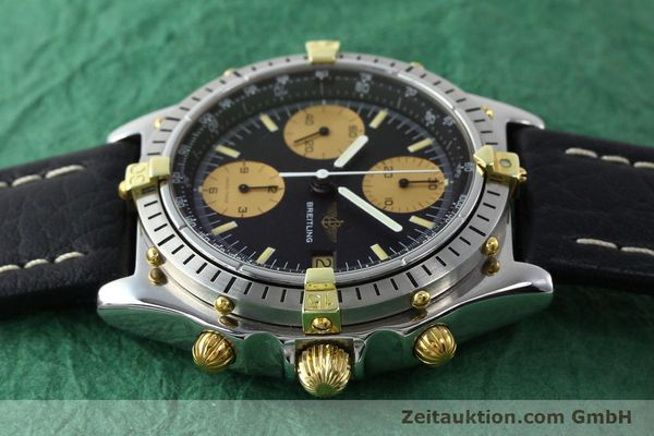 Used luxury watch Breitling Chronomat chronograph gilt steel automatic Kal. VAL 7750 Ref. 81.950  | 141563 05