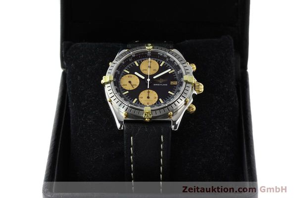 Used luxury watch Breitling Chronomat chronograph gilt steel automatic Kal. VAL 7750 Ref. 81.950  | 141563 07