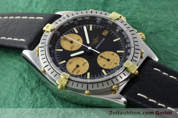 Used luxury watch Breitling Chronomat chronograph gilt steel automatic Kal. VAL 7750 Ref. 81.950  | 141563 13