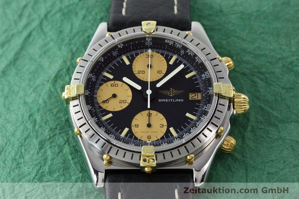 Used luxury watch Breitling Chronomat chronograph gilt steel automatic Kal. VAL 7750 Ref. 81.950  | 141563 14