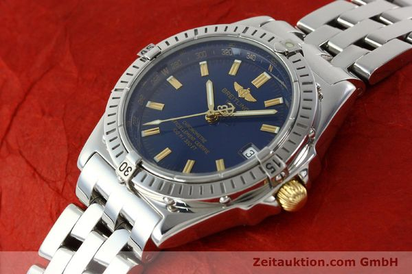 Used luxury watch Breitling Wings steel automatic Kal. ETA 2892A2 Ref. A10350  | 141565 01