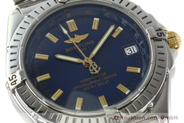 Used luxury watch Breitling Wings steel automatic Kal. ETA 2892A2 Ref. A10350  | 141565 02