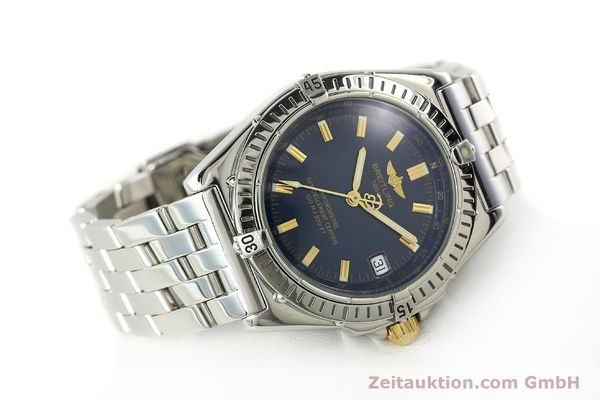 Used luxury watch Breitling Wings steel automatic Kal. ETA 2892A2 Ref. A10350  | 141565 03