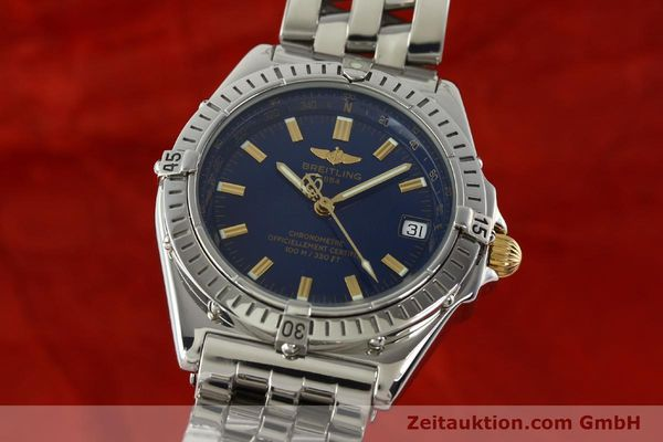 Used luxury watch Breitling Wings steel automatic Kal. ETA 2892A2 Ref. A10350  | 141565 04