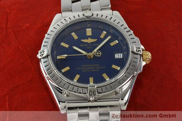 Used luxury watch Breitling Wings steel automatic Kal. ETA 2892A2 Ref. A10350  | 141565 14