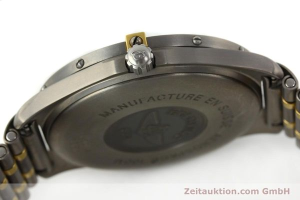 Used luxury watch Breitling Aerospace chronograph titanium / gold quartz Kal. B56 ETA 988332 Ref. F56062  | 141568 08