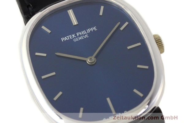 Used luxury watch Patek Philippe Ellipse 18 ct white gold manual winding Kal. 23-300 Ref. 3648  | 141578 02
