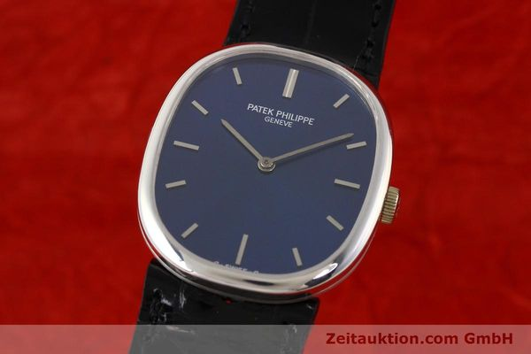 Used luxury watch Patek Philippe Ellipse 18 ct white gold manual winding Kal. 23-300 Ref. 3648  | 141578 04