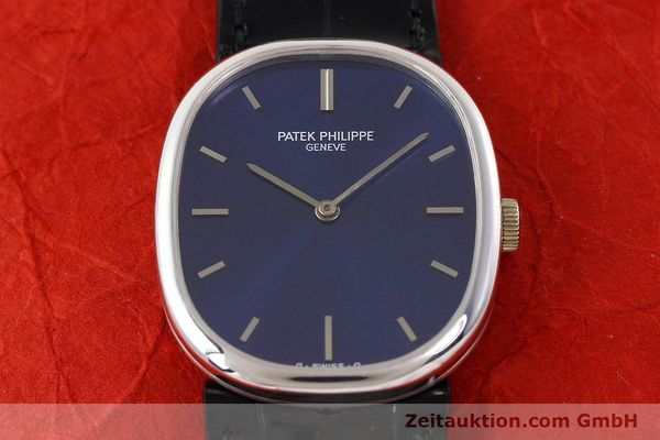 Used luxury watch Patek Philippe Ellipse 18 ct white gold manual winding Kal. 23-300 Ref. 3648  | 141578 17