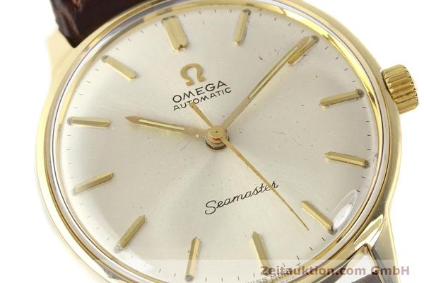 Used luxury watch Omega Seamaster 14 ct yellow gold automatic Kal. 552 Ref. 165001  | 141581 02