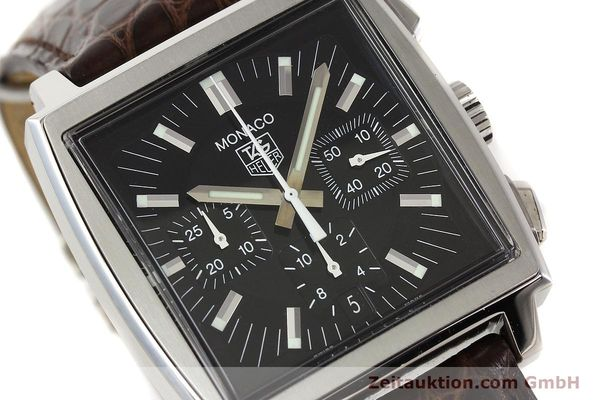 Used luxury watch Tag Heuer Monaco steel automatic Kal. 17 ETA 2894-2 Ref. CW2111-0  | 141583 02
