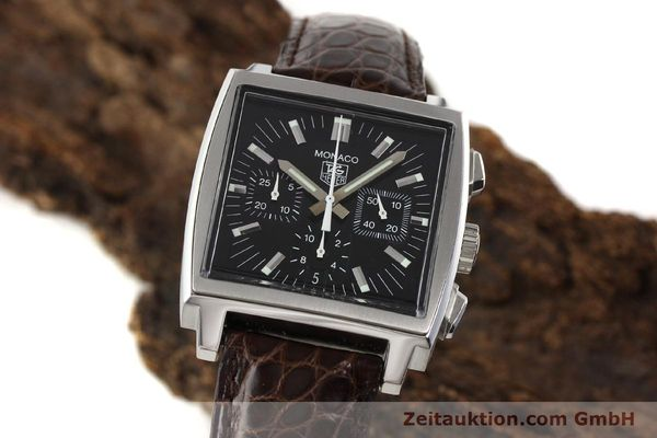 Used luxury watch Tag Heuer Monaco steel automatic Kal. 17 ETA 2894-2 Ref. CW2111-0  | 141583 04