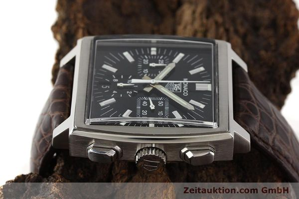 Used luxury watch Tag Heuer Monaco steel automatic Kal. 17 ETA 2894-2 Ref. CW2111-0  | 141583 05