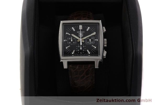 Used luxury watch Tag Heuer Monaco steel automatic Kal. 17 ETA 2894-2 Ref. CW2111-0  | 141583 07
