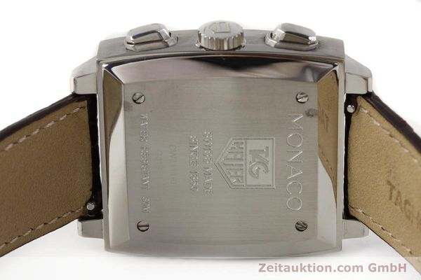 Used luxury watch Tag Heuer Monaco steel automatic Kal. 17 ETA 2894-2 Ref. CW2111-0  | 141583 09