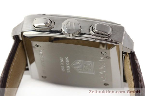 Used luxury watch Tag Heuer Monaco steel automatic Kal. 17 ETA 2894-2 Ref. CW2111-0  | 141583 11