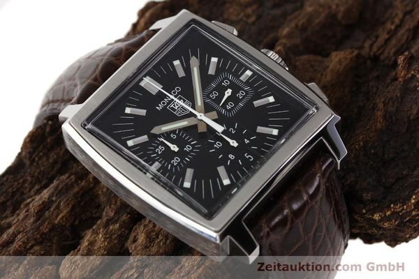 Used luxury watch Tag Heuer Monaco steel automatic Kal. 17 ETA 2894-2 Ref. CW2111-0  | 141583 14