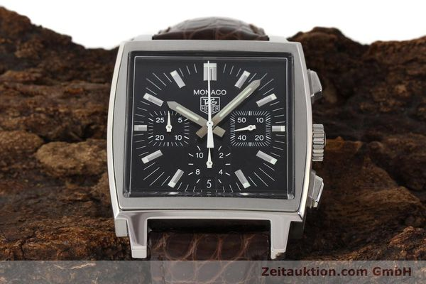 Used luxury watch Tag Heuer Monaco steel automatic Kal. 17 ETA 2894-2 Ref. CW2111-0  | 141583 15