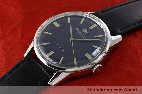 Used luxury watch IWC Portofino steel automatic Kal. C.854 Ref. R810A VINTAGE  | 141584 01