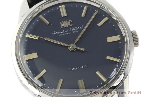 Used luxury watch IWC Portofino steel automatic Kal. C.854 Ref. R810A VINTAGE  | 141584 02