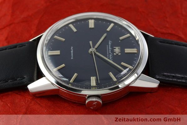 Used luxury watch IWC Portofino steel automatic Kal. C.854 Ref. R810A VINTAGE  | 141584 05