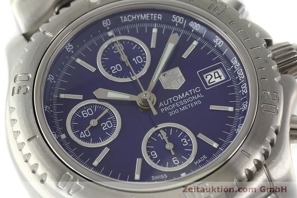 Used luxury watch Tag Heuer Link chronograph steel automatic Kal. ETA 7750 Ref. CT2111  | 141588 02