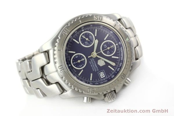 Used luxury watch Tag Heuer Link chronograph steel automatic Kal. ETA 7750 Ref. CT2111  | 141588 03