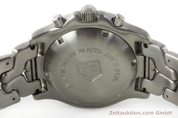 Used luxury watch Tag Heuer Link chronograph steel automatic Kal. ETA 7750 Ref. CT2111  | 141588 09